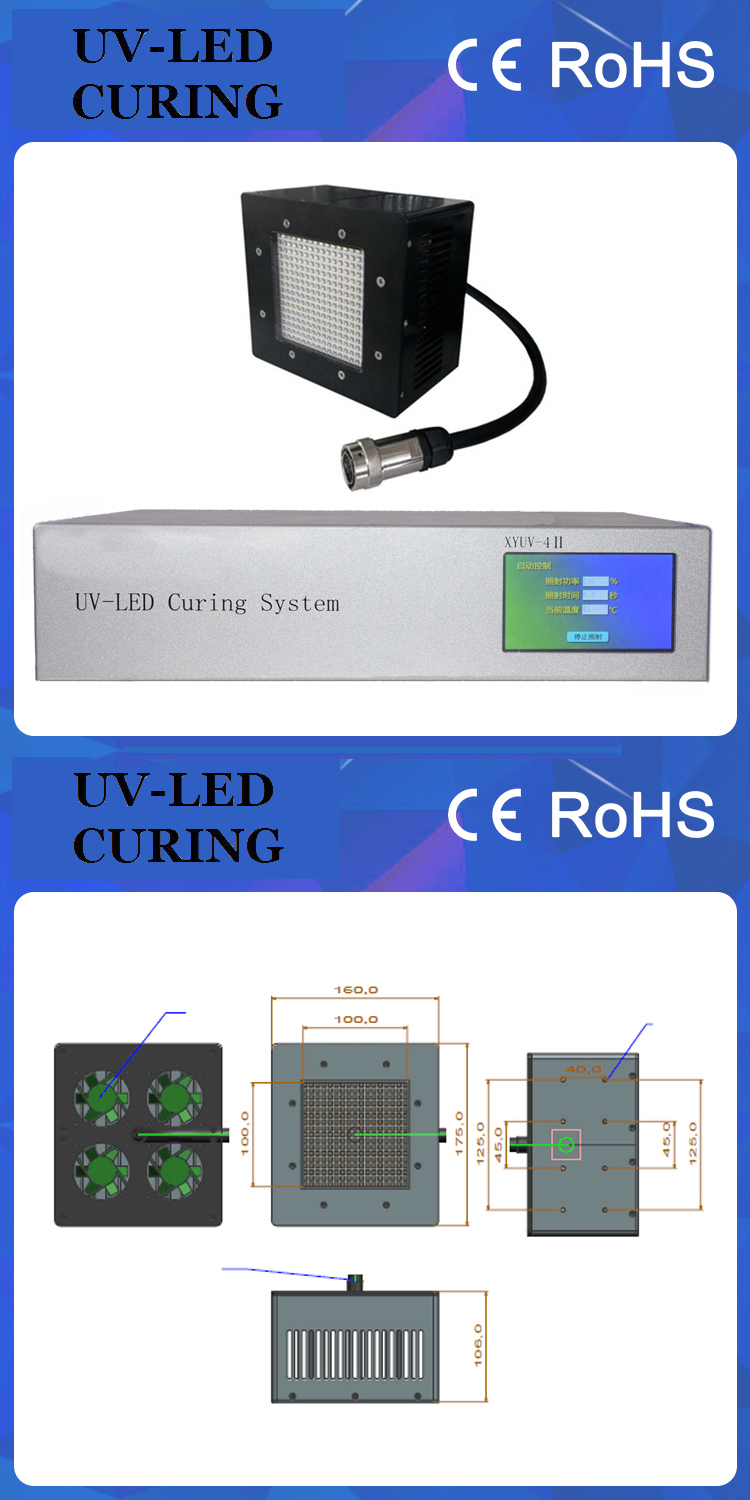 High Power 700W UV LED Curing System