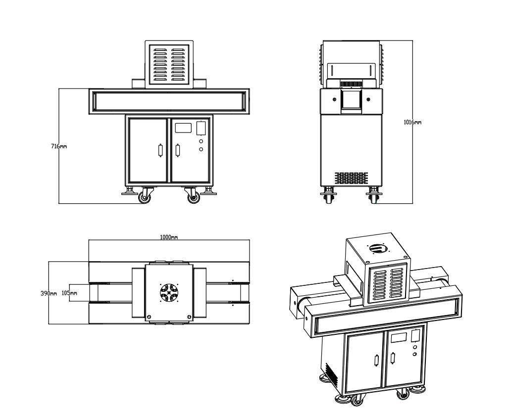 Specification of UV Curing Machine
