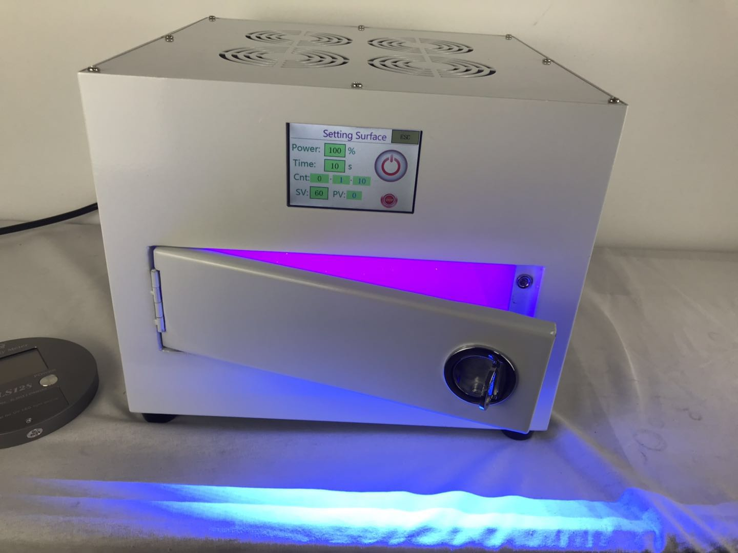 How to make a UV LED Exposure box ?