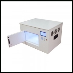 scatola a led uv